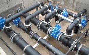 foto tuberies valvules pe lleida aigua potable